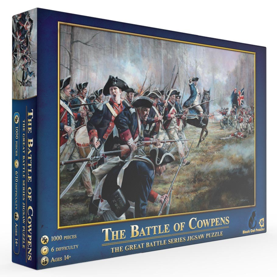 The Battle of Cowpens Puzzle - 1000 Pieces