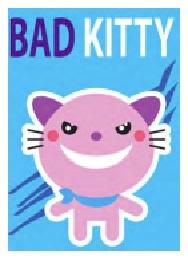 Jumbo Magnet: Bad Kitty