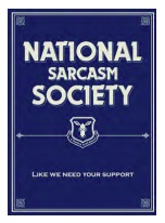 Jumbo Magnet: National Sarcasm Society