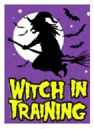 Jumbo Magnet: Witch in Training