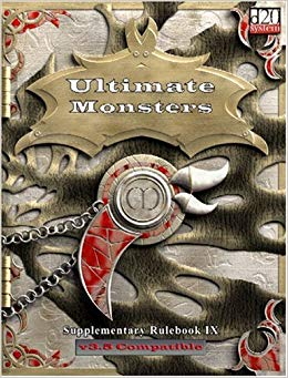 D20: Ultimate Monsters: Supplementary Rulebook IX - Used