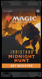 Magic the Gathering: Innistrad: Midnight Hunt Set Booster Pack