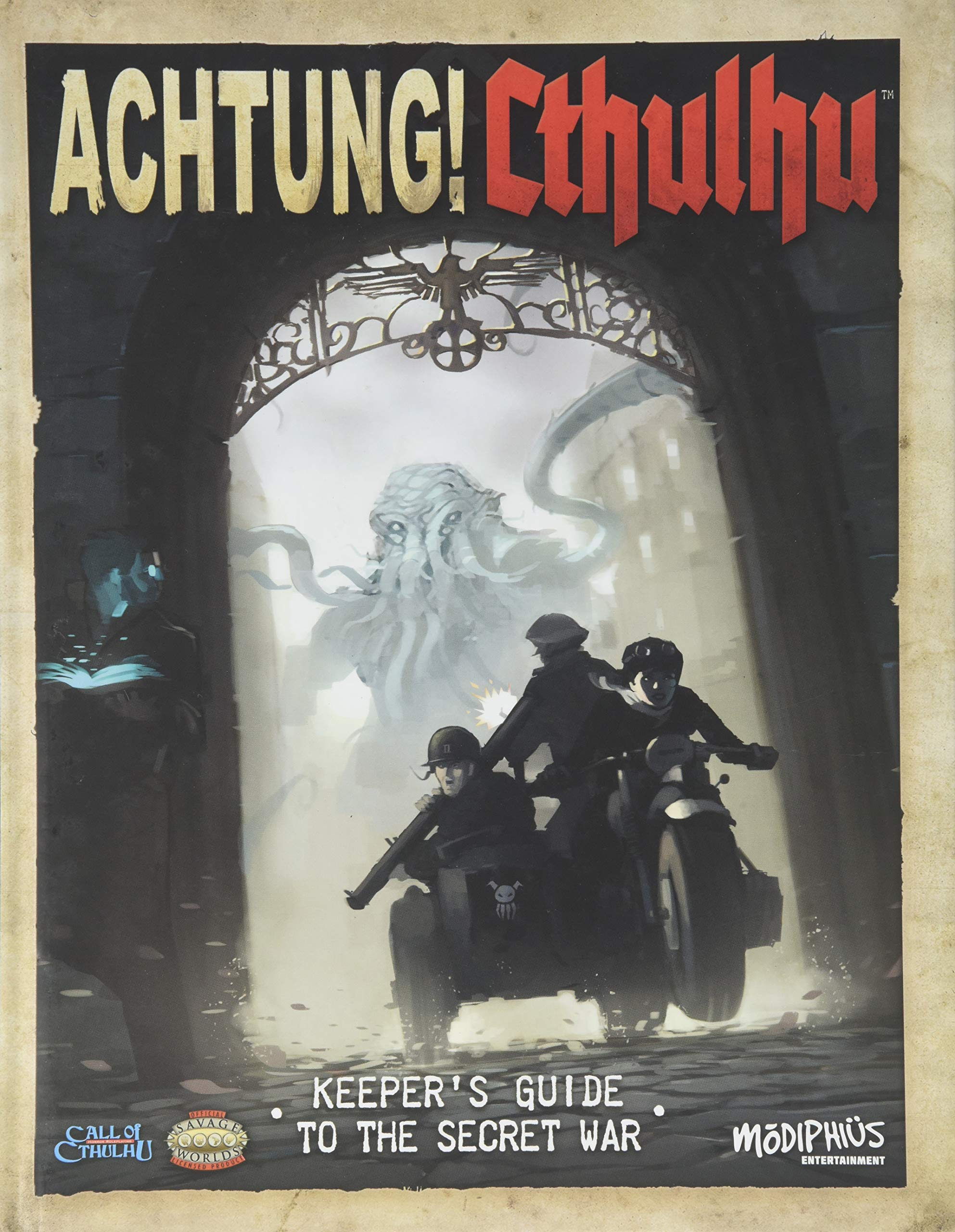 Achtung! Cthulhu: Keepers Guide to the Secret War - Used