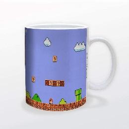 Super Mario - Retro Tile Mug