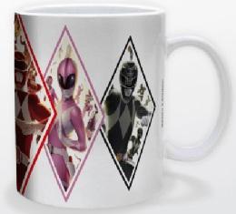 Power Rangers - Diamonds Mug