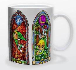 Zelda - Stained Glass Mug