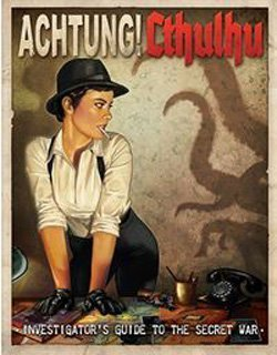 Achtung! Cthulhu: Investigators Guide to the Secret War - Used