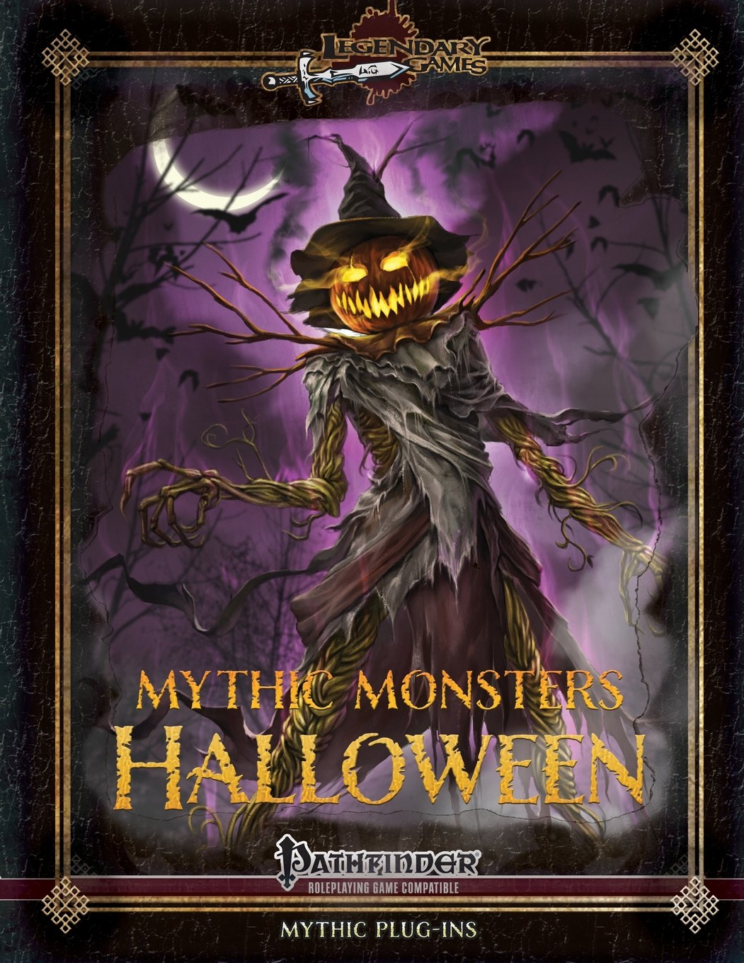 Mythic Monsters Halloween: Pathfinder Compatible - Used