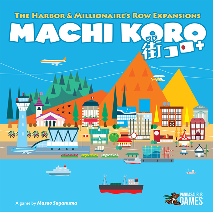 Machi Koro 5th Anniversary The Expansion (The Habour Millionaires Row)