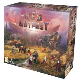 Red Outpost Board Game