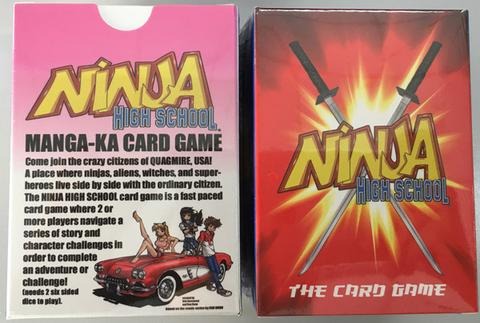 Ninja High School Card Game