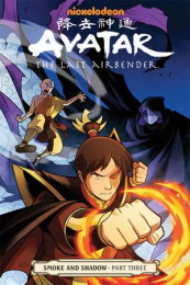 Avatar: the Last Airbender: Volume 13: Smoke and Shadow Part Three TP