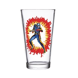 Super 7 GI Joe: Cobra Commander Pint Glass