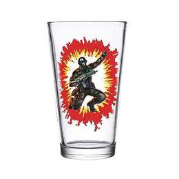 Super 7 GI Joe: Snake Eyes Pint Glass