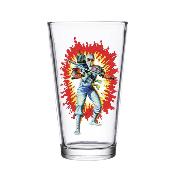 Super 7 GI Joe: Storm Shadow Pint Glass