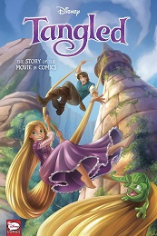 Tangled: The Story of the Movie in Comics HC