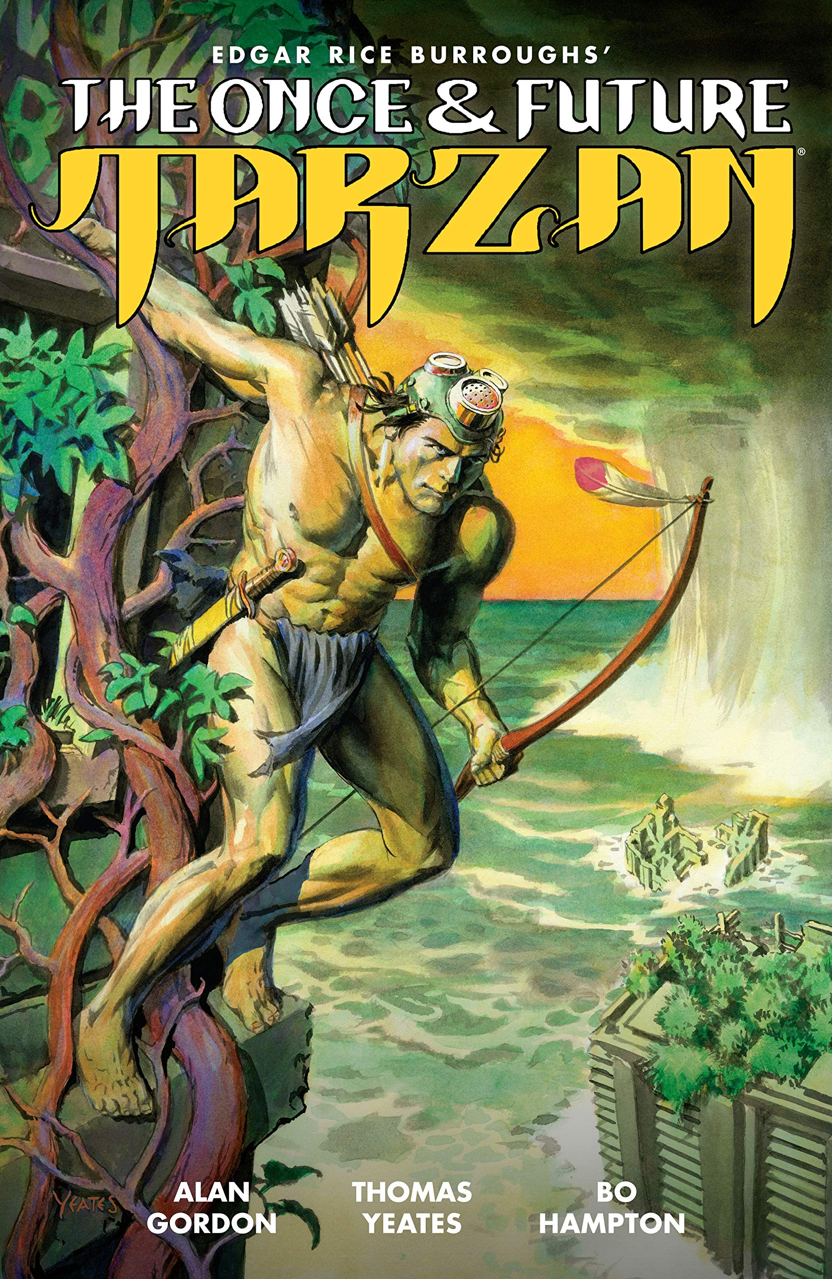 Once and Future Tarzan TP - Used
