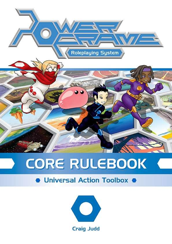 Powerframe Roleplaying Game: Core Rulebook - Used