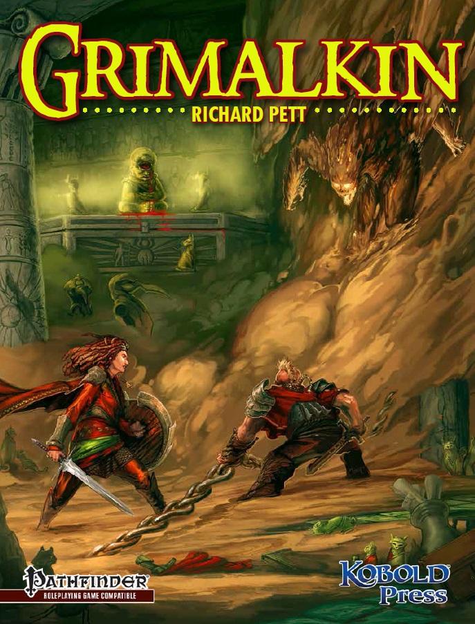 Grimalkin Adventure: Pathfinder Compatible - Used