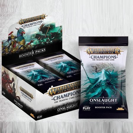Age of Sigmar: Champions: Onslaught Booster Pack