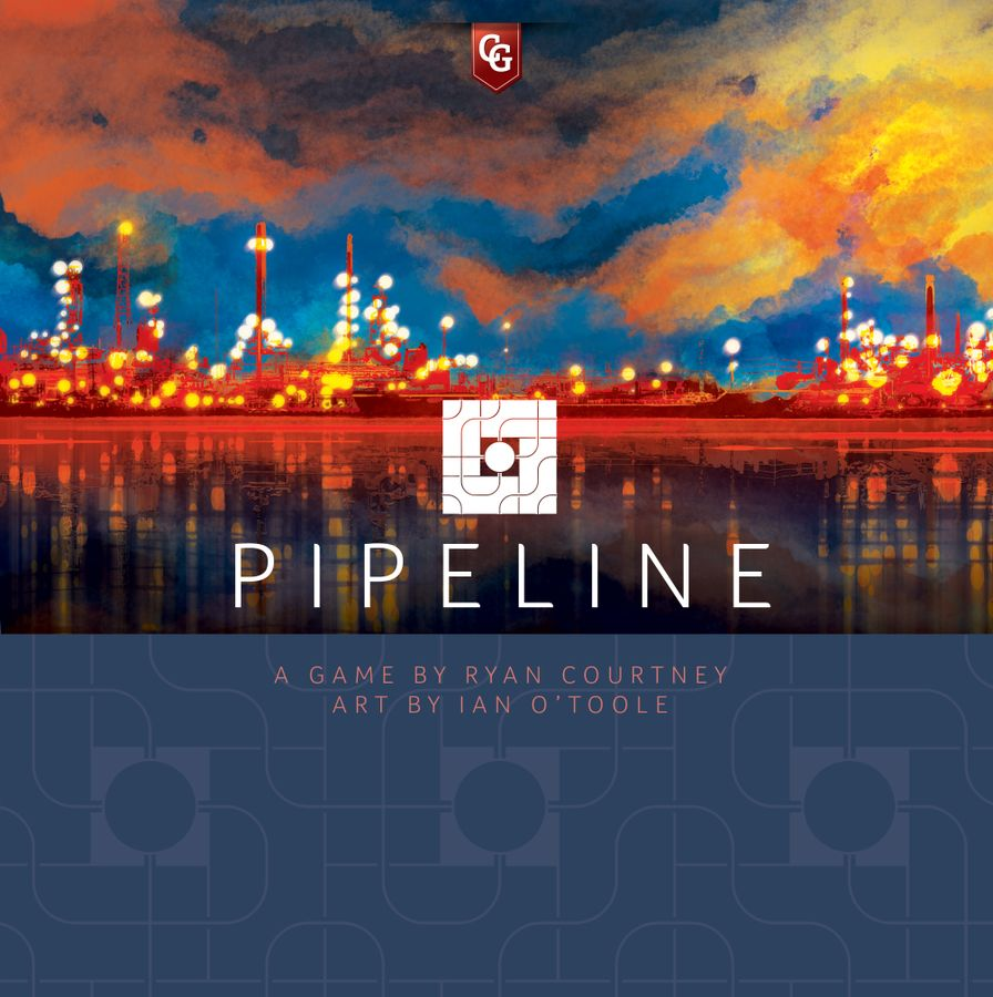 Pipeline by Capstone Games Board Game - USED - By Seller No: 5880 Adam Hill