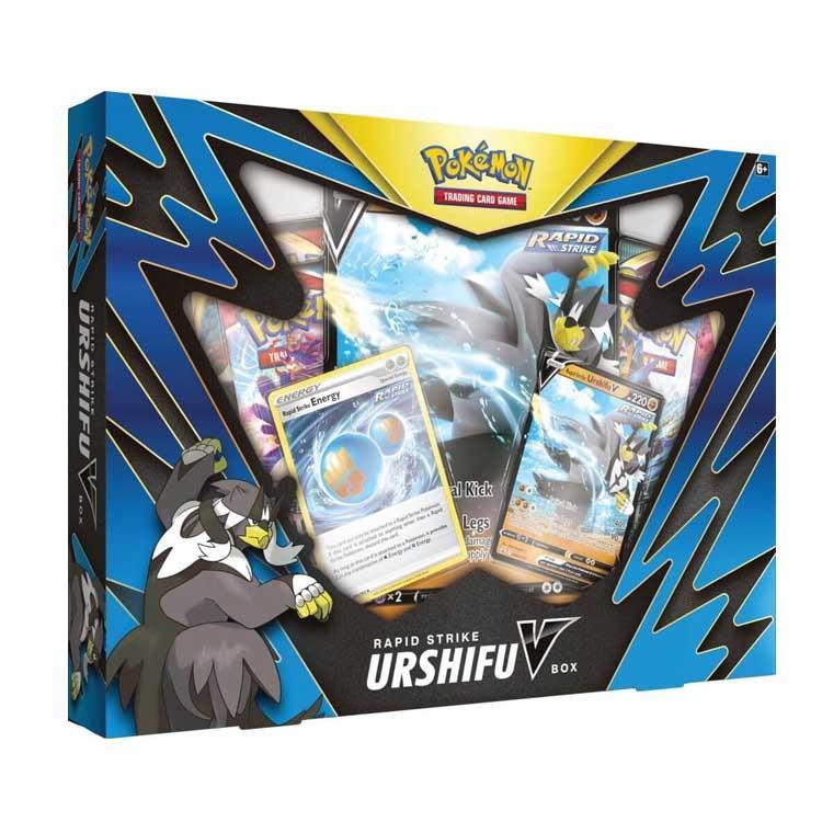 Pokemon TCG: Rapid Strike Urshifu V Box