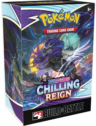 Pokemon TCG: Sword and Shield Chilling Reign Build and Battle Box