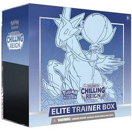 Pokemon TCG: Sword and Shield: Chilling Reign Elite Trainer Box