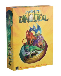 2 Minute Dino Deal Board Game