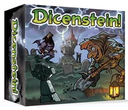 Dicenstein! Board Game