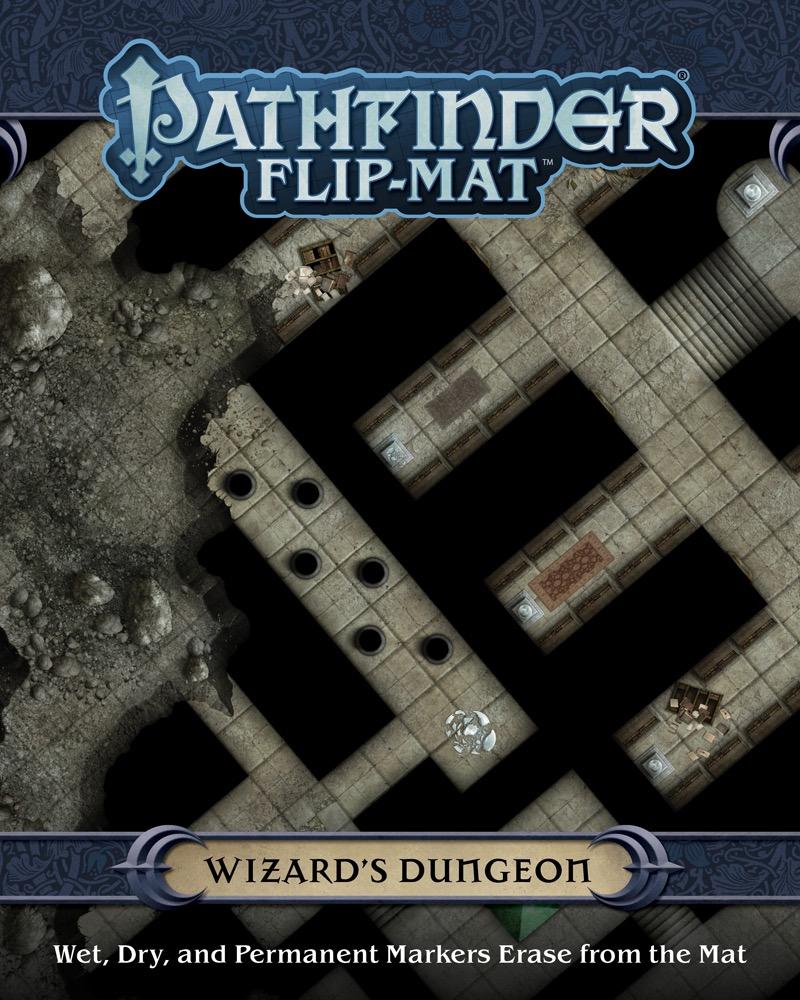 Pathfinder: Flip-Mat: Wizards Dungeon