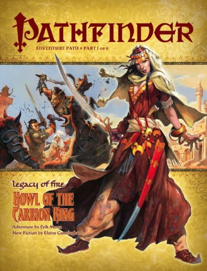 Pathfinder: Legacy of Fire: Howl of the Carrion King - Used