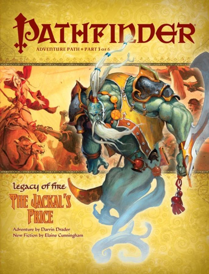 Pathfinder: Legacy of Fire: The Jackal's Price - Used