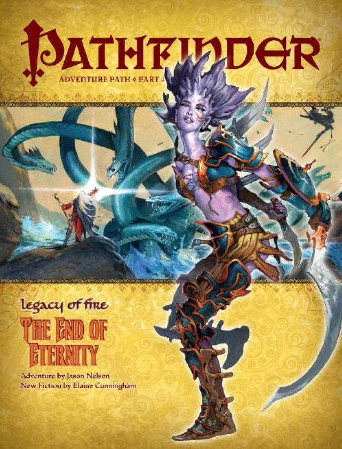 Pathfinder: Legacy of Fire: The End of Eternity - Used