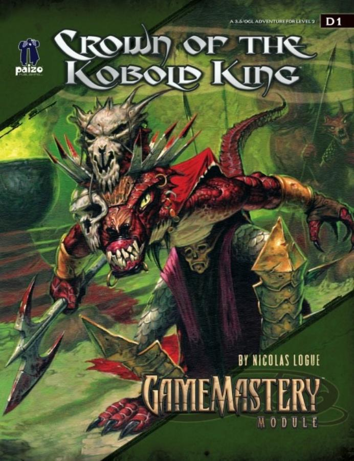 Pathfinder 1st Edition: Crown of the Kobold King - Used