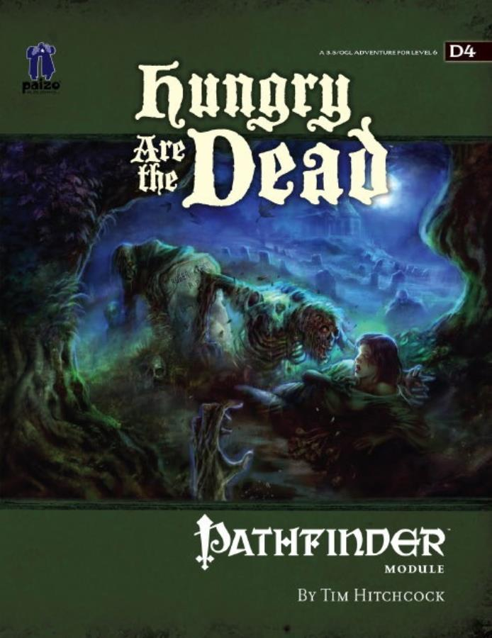 Pathfinder 1st Edition: Hungry are the Dead - Used