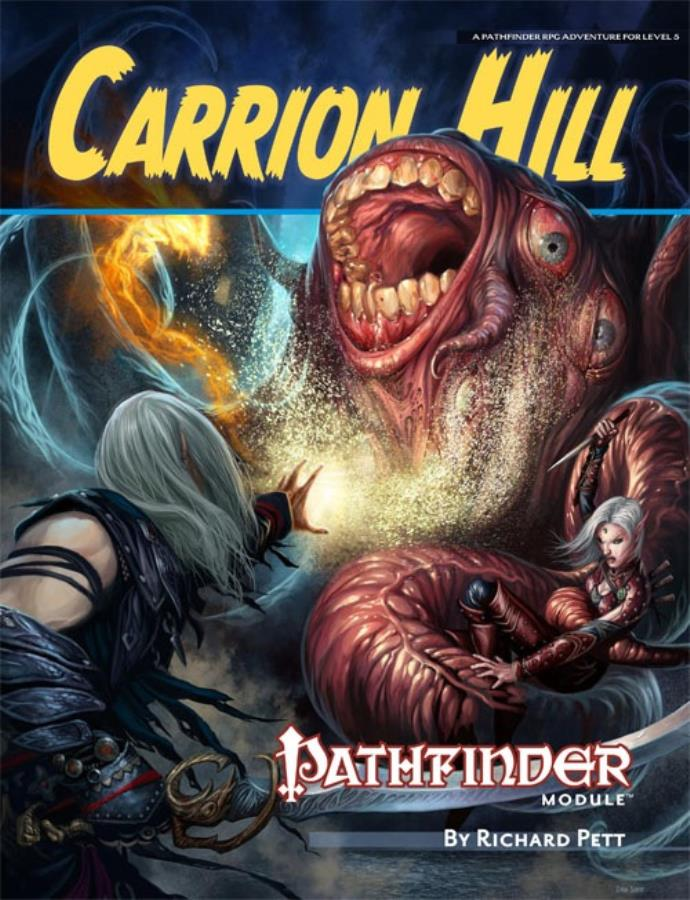 Pathfinder 1st Edition: Carrion Hill - Used