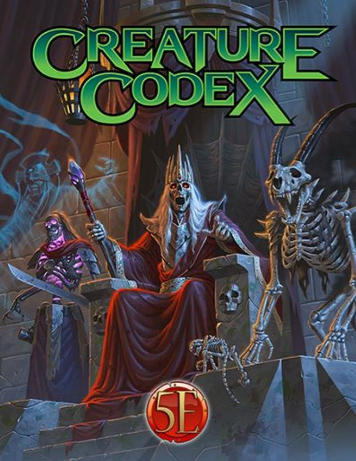 Creature Codex HC