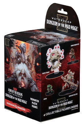 Dungeons and Dragons: Icons of the Realms: Waterdeep: Dungeon of the Mad Mage Booster Pack