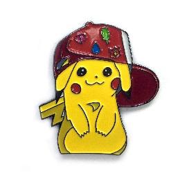 Pikachu: Gym Badge Enamel Pin