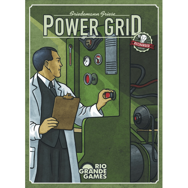 Power Grid Board Game Second Edition