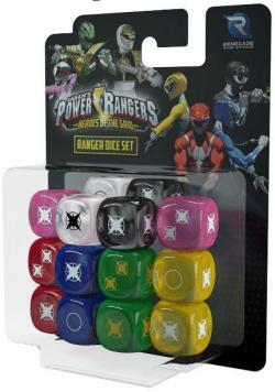 Power Rangers: Heroes of the Grid: Dice Set