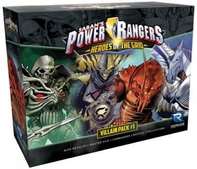 Power Rangers: Heroes of the Grid: Villain Pack  1