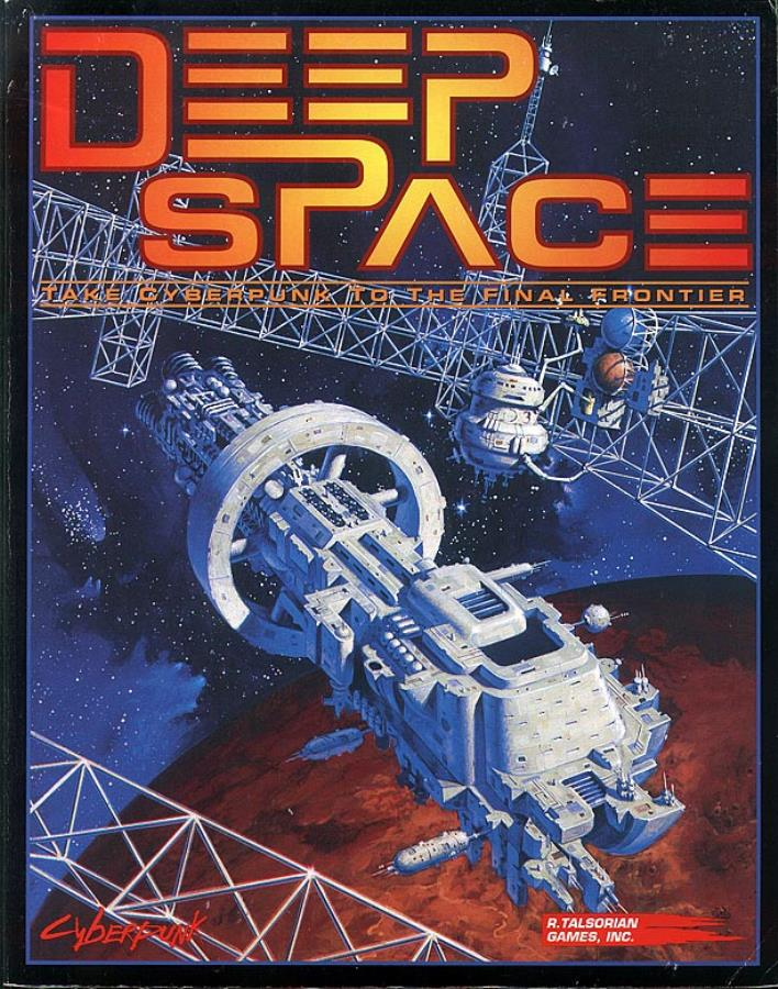 Cyberpunk 2020: Deep Space: The Space Sourcebook for Cyberpunk 3211 - Used