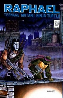 Raphael: Teenage Mutant Ninja Turtles (1987) no. 1 Second Printing - Used