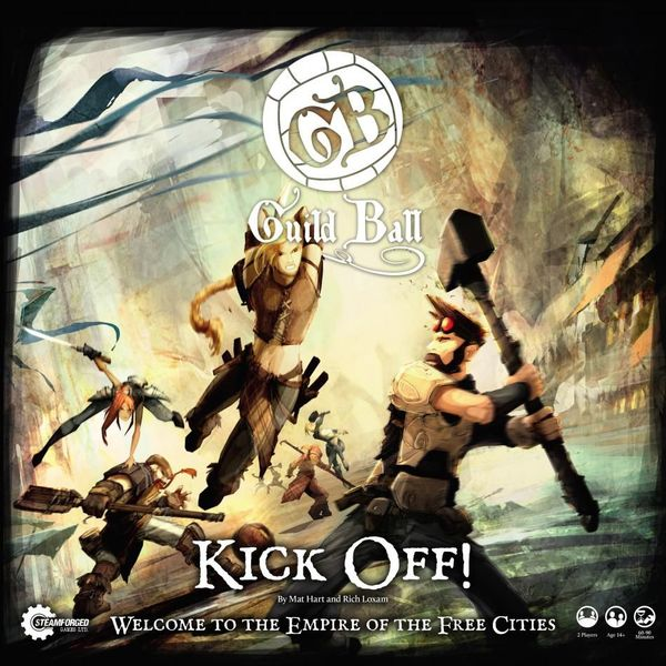 Guild Ball: Kick Off Board Game - USED - By Seller No: 14627 Steven Pfannes