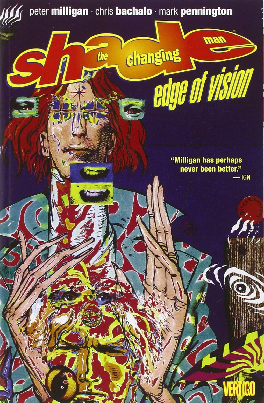 Shade the Changing Man: Volume 2: Edge of Vision TP - Used