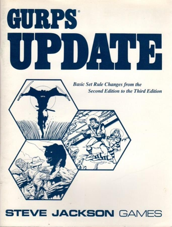 Gurps 3rd Ed: Update - Used