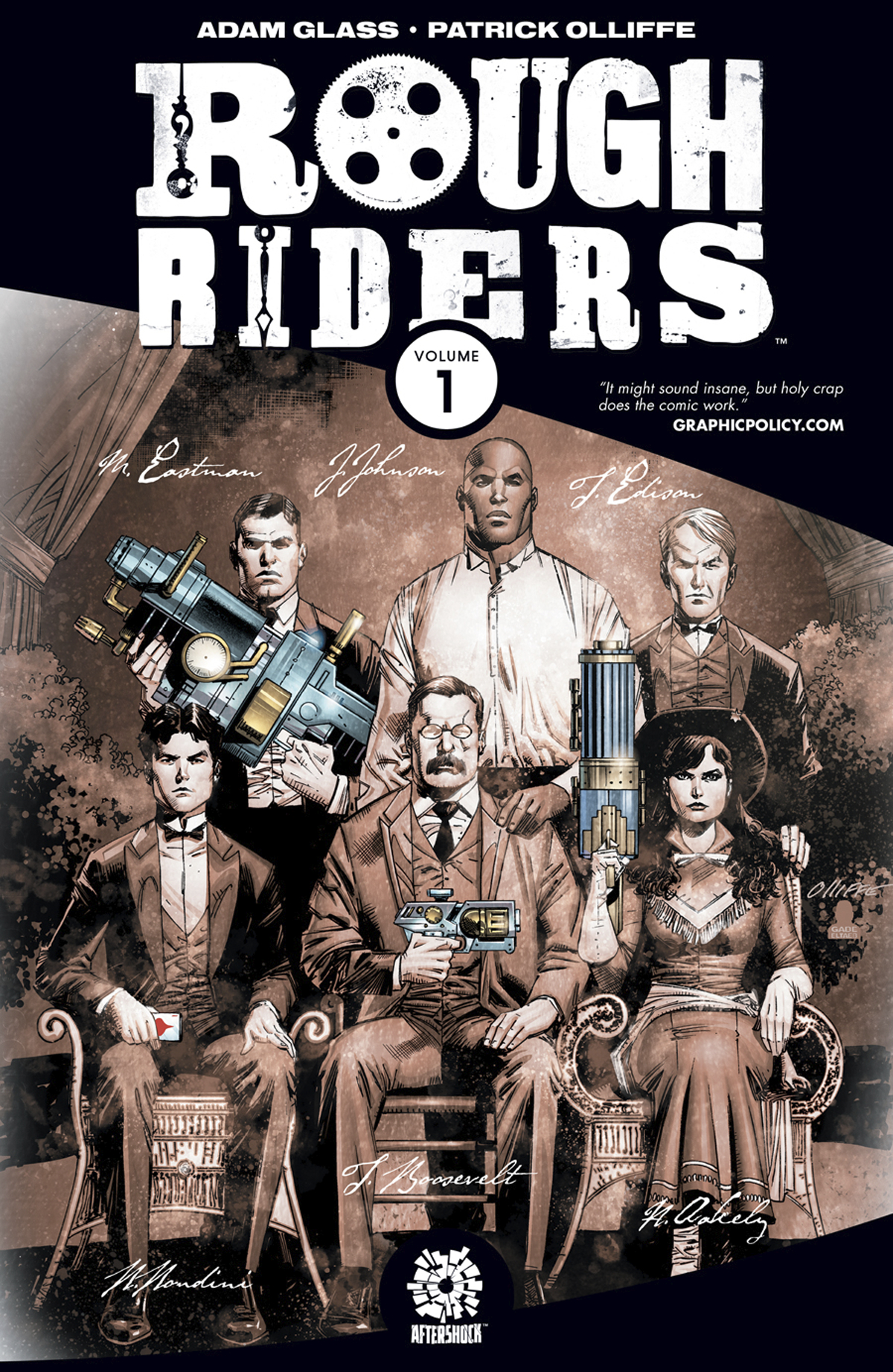 Rough Riders Volume 1 TP
