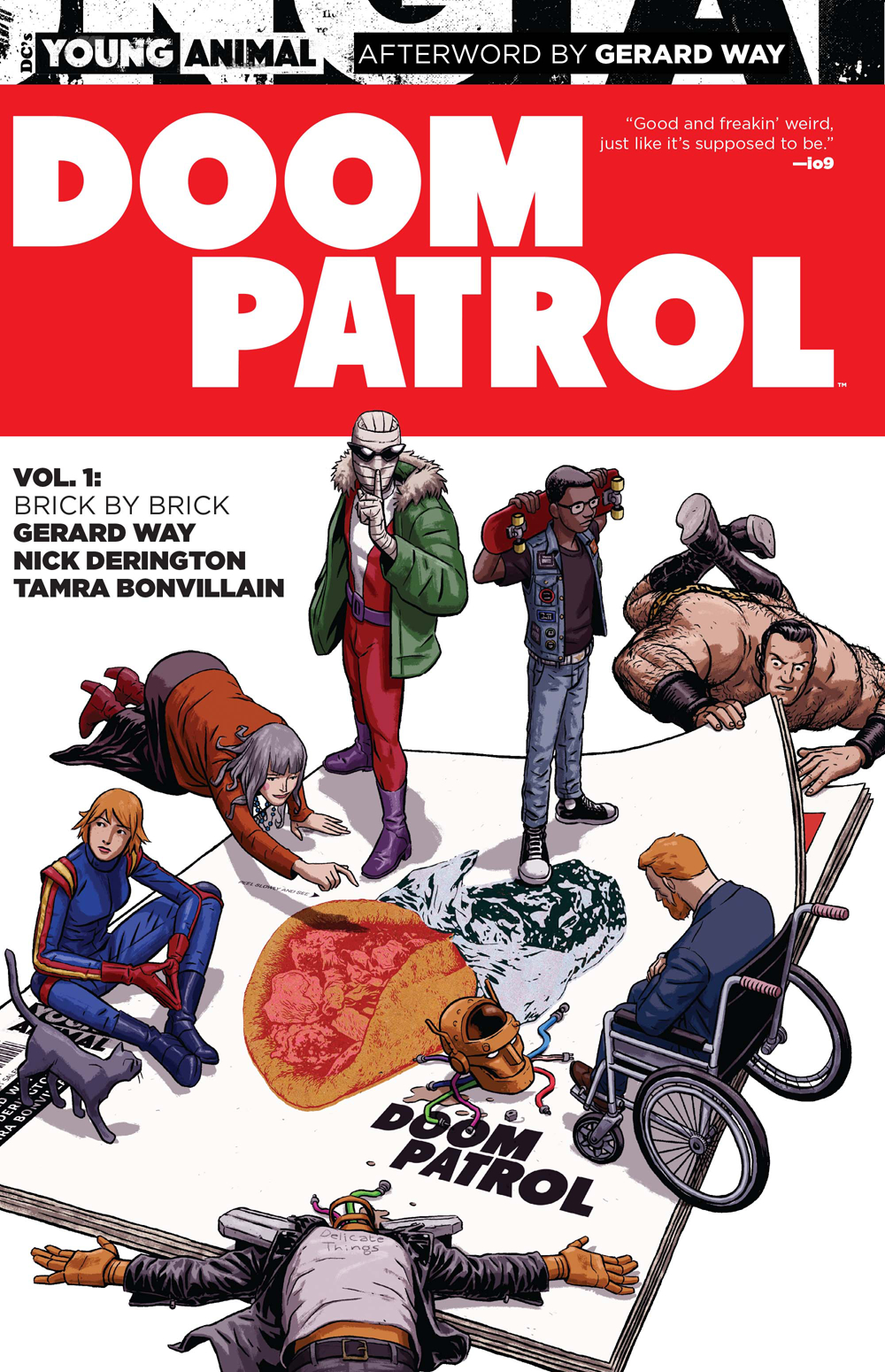 Doom Patrol Volume 1: Brick by Brick TP